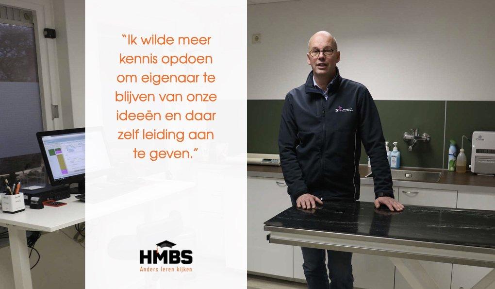 Dierenarts Doeke Walstra over de HMBS MBA