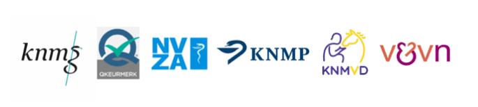KNMP NVZA KNMG Q-keurmerk KNMvD V&VN